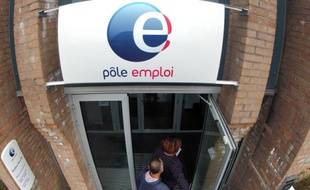 Une antenne de Pôle emploi à Bailleul, dans le Nord-Pas-de-Calais, le 13 septembre 2012