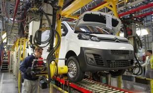 Fabrication d'un utilitaire Citroën Spacetourer