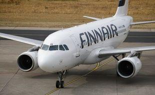 Un avion de la compagnie Finnair à Helsinki, le 10 juillet 2018.
