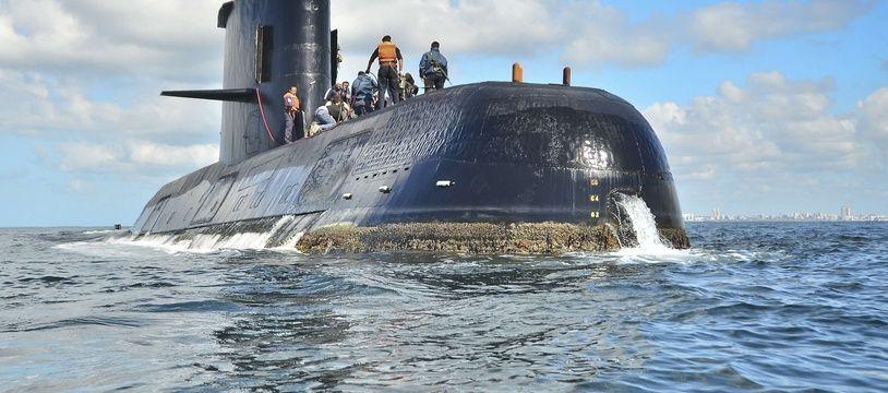 Le sous-marin argentin «San Juan».