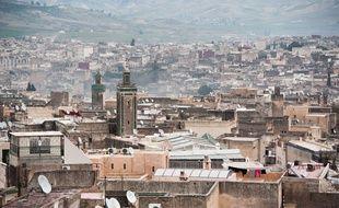 La ville de Fès au Maroc (illustration).