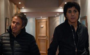 Richard Anconina et Jean-Luc Lahaye dans «Stars 80, la suite».