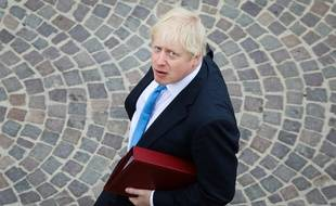 Boris Johnson, le 28 août 2018 à Biarritz.