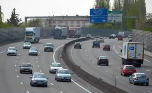 Strasbourg: La circulation sur l'A35 (Archives)