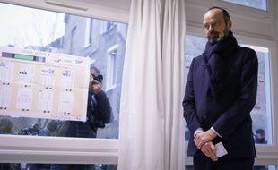 Edouard Philippe vote au Havre en pleine pandémie de coronavirus