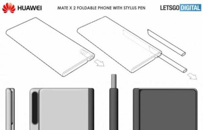 Le prochain smartphone pliable de Huawei reprendra la formule du Galaxy Note