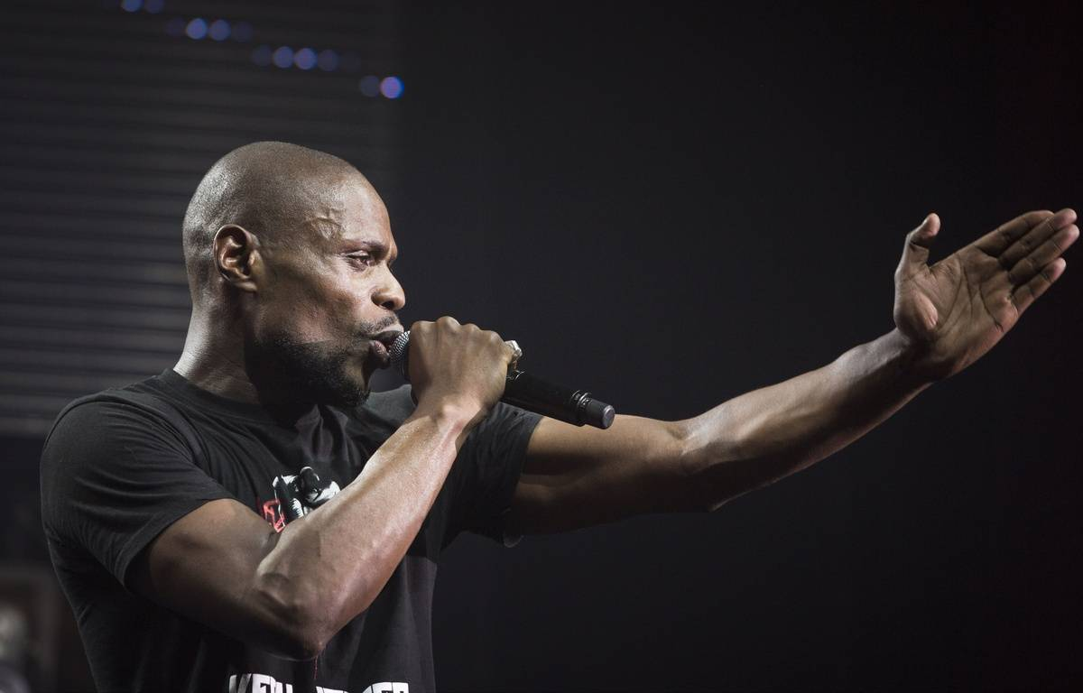 Le rappeur Kery James lance «LeBanlieusard.fr» – ALIX WILLIAM/SIPA