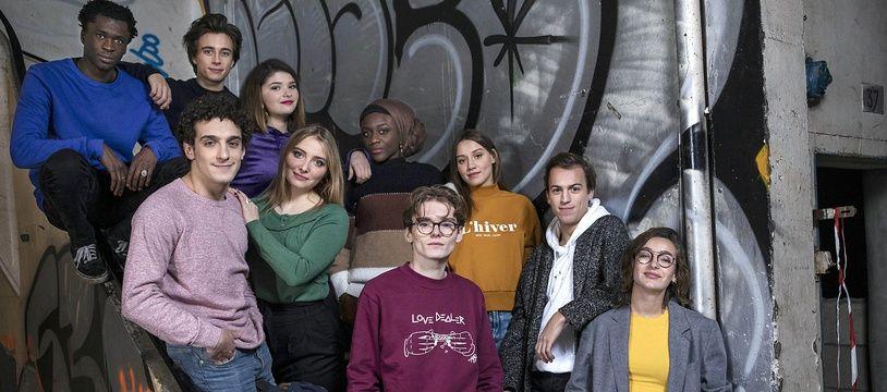 Le casting de la saison 5 de « Skam France ».