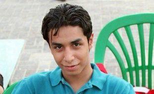 Portrait non daté d'Ali Mohamed al-Nimr, un Saoudien de 21 ans condamné à la peine de mort.