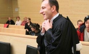 Raphaël Darribère, l'un des deux avocats de Laurent Dejean, mis en examen le 9 février 2015 pour