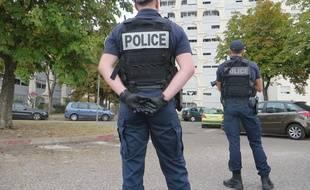 Lyon, le 3 octobre 2018 Illustration de policiers.