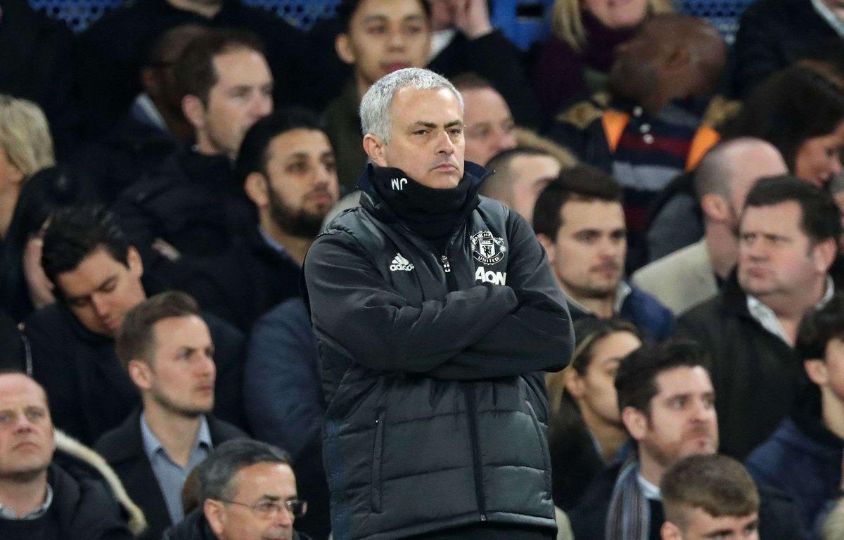 José Mourinho lors de Chelsea-Manchester United en quarts de finale de FA Cup, le 13 mars 2017. – BPI/Shutterstock/SIPA