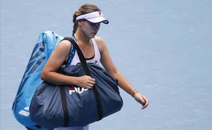 Sofia Kenin, tenante du titre de l'Open d'Australie, a été sortie dès le 2e tour de l'édition 2021.