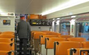 Marseille Le 17 NOVEMBRE 2014 Les nouvelles rames de TER de PACA
