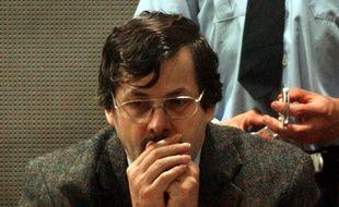 Marc Dutroux lors de son procès à Arlon (Belgique), en 2004.