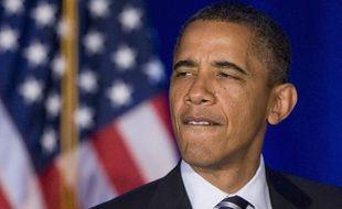 Le président américain, Barack Obama, lors d'un déplacement à Orlando (Floride), le 11 octobre 2011.
