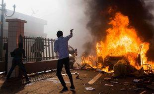 Le Burkina Faso s'est enflammé jeudi contre le régime du président Blaise Compaoré, le 30 octobre 2014.