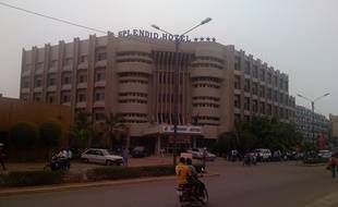 L'hôtel Splendid, à Ouagadougou, le 25 mai 2008.