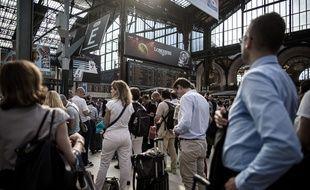 100.000 voyageurs ont été touchés de près ou de loin par la paralysie de la gare du Nord, le 19 juillet. La raison? Un incendie lié à un vol de cuivre. (Illustration)