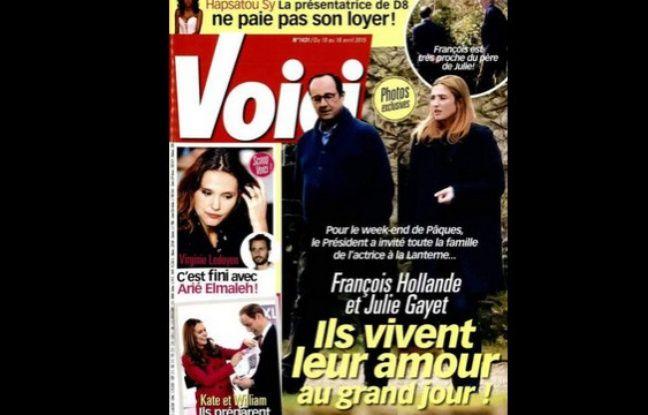 Julie Gayet Hollande Closer
