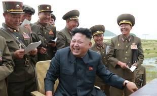 Le leader de la Corée du nord, Kim Jong-un, en août 2014.