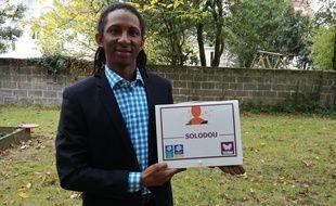 Ousmane Bah a créé la méthode d'apprentissage du français Solodou
