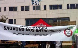Action de travailleurs indépendants contre le RSI