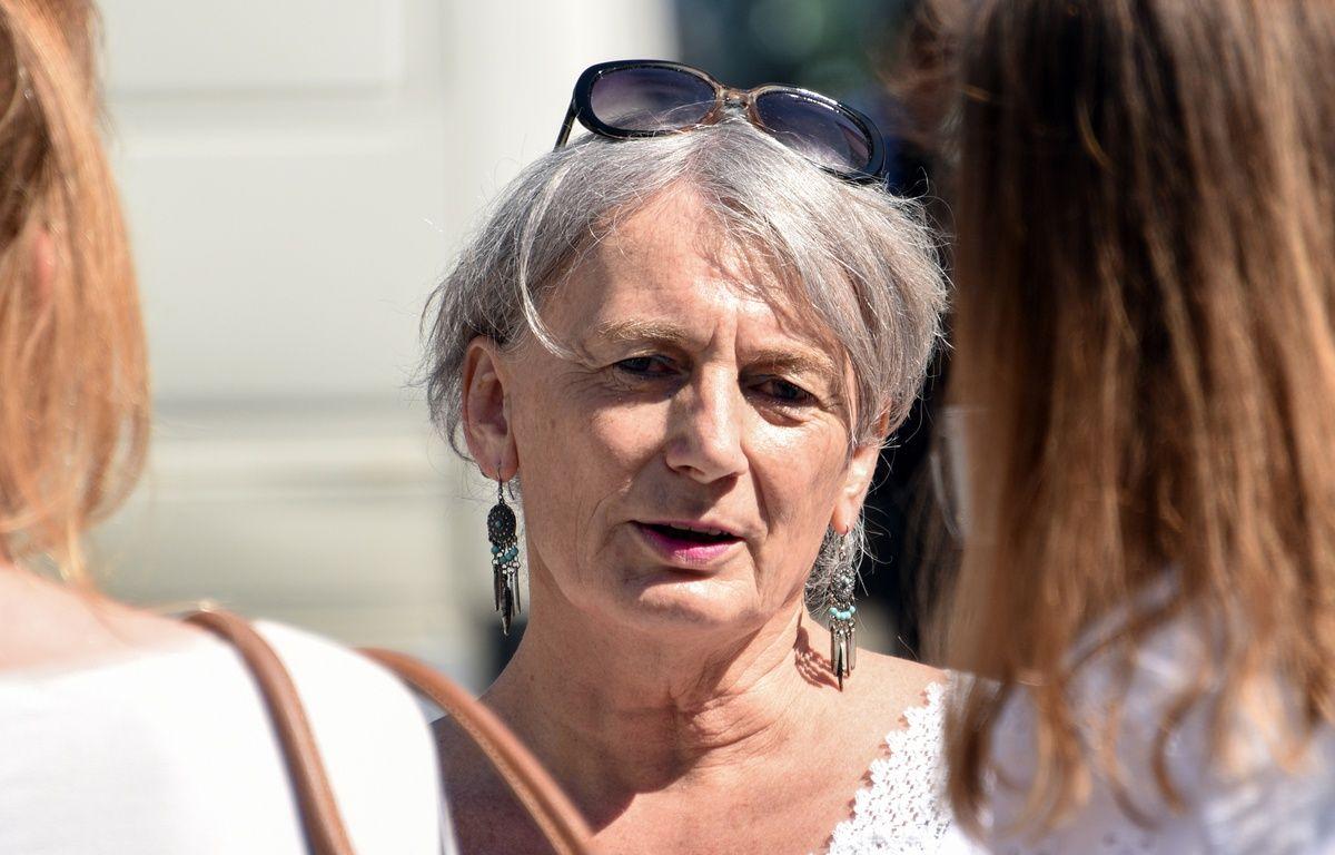 La candidate (EELV) Hélène Hardy, dans la 2e cirocnscription du Nord. – D. Charlet / AFP