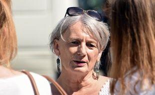 La candidate (EELV) Hélène Hardy, dans la 2e cirocnscription du Nord.