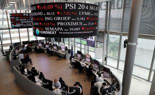 La Bourse de Paris regagne une partie du terrain perdu à cause du Brexit