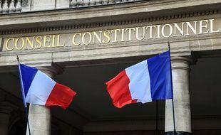 Façade du conseil constitutionnel (image d'illustration).