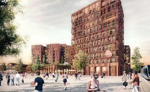 Le futur hôtel Eklo (et écolo) de la Cartoucherie qui proposera des chambres bon marché mais aussi des dortoirs.