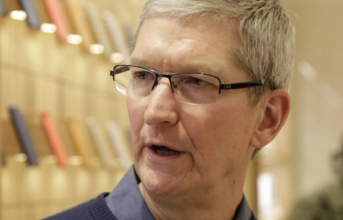 Tim Cook, patron d'Apple –  Mark Lennihan/AP/SIPA