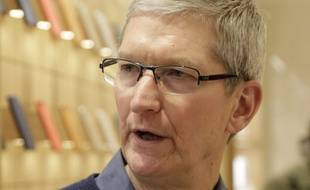 Tim Cook, patron d'Apple