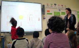 Le métier d'enseignant sera l'un des plus recherchés en Bretagne. Ici une école à Rennes.