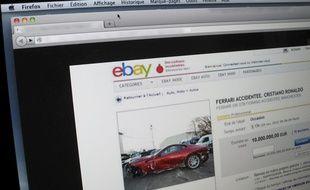 L'ancienne voiture de Cristiano Ronaldo sera bientôt en vente sur Internet.