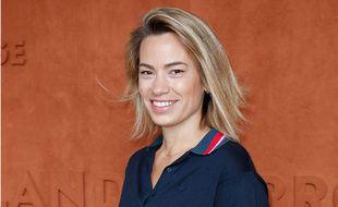 La journaliste Anne-Laure Bonnet en 2019 à Roland-Garros.