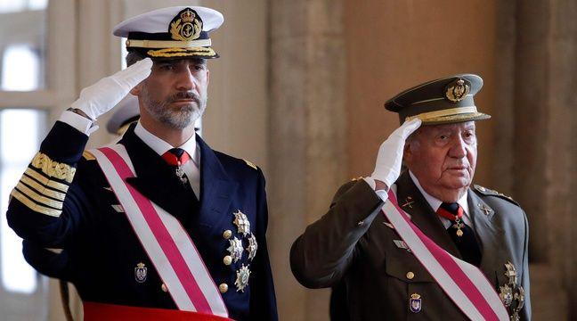 L'ex-roi Juan Carlos, soupçonné de corruption, quitte l'Espagne