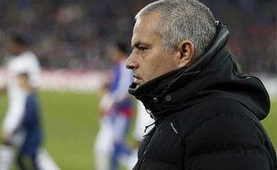 José Mourinho, le 26 novembre 2013 à Bâle (Suisse).