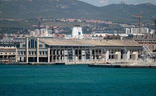 Marseille le 21 mai 2013 - Le hangar J1