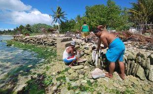 """La justice néo-zélandaise a refusé mardi d'accorder le statut de réfugié climatique à un habitant des Kiribati, un archipel du Pacifique menacé par la montée des eaux, estimant que ses arguments n'étaient """"pas convaincants""""."""