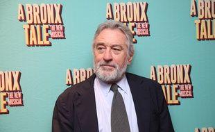 Robert De Niro à la soirée d'ouverture de la comédie musicale A Bronx Tale
