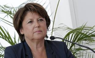 La maire (PS) de Lille, Martine Aubry (archives)