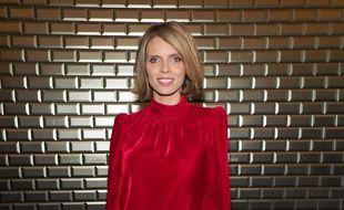 Sylvie Tellier à la Fashion Week de Paris, le 23 janvier 2018.