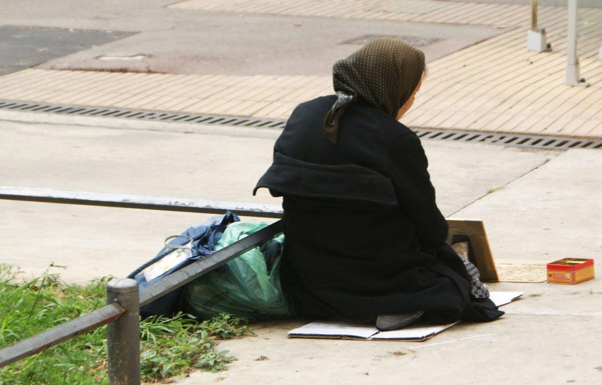 Une sans-abri, à Montpellier (illustration). – N. Bonzom / Maxele Presse