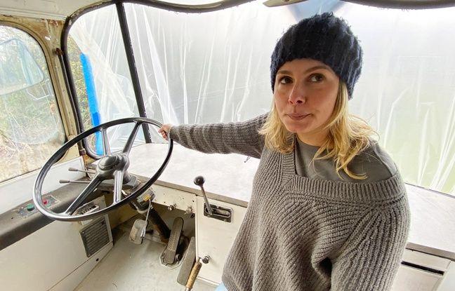Sandy Savary est aux commandes du Bus 24