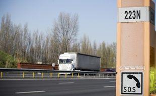 Sur les autoroutes du Sud de la France. 22/03/2011 Toulouse