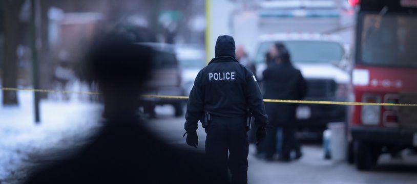 Illustration de la police de Chicago