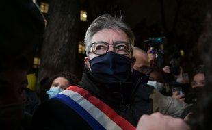 Jean-Luc Mélenchon, à Paris le 17 novembre 2020.