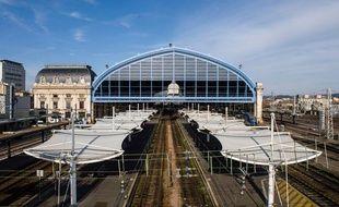 La halle de la gare Bordeaux Saint-Jean